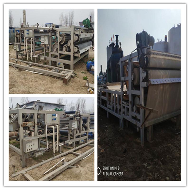 出售绿丰八成新3x12米带式压滤机污水处理
