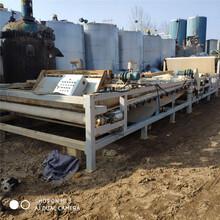 广州回收二手带式压滤机价格图片