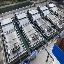 回收河道清淤用的二手带式压滤机二手3x12带式压滤机图片