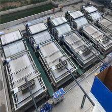 回收河道清淤用的二手帶式壓濾機二手3x12帶式壓濾機圖片