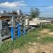 合肥市二手帶式壓濾機出售剛拆下的二手3-12帶式壓濾機