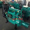 潍坊潍柴ZH4105P柴油发动机75马力发动机带水泵机组打糠机粉碎机削片机专用