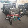 潍坊发动机ZH4105P直连固定动力输出柴油机55KW75马力发动机带粉碎机破碎机打糠机