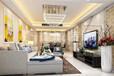 现代简约三居室装修案例名称:滨江帝景