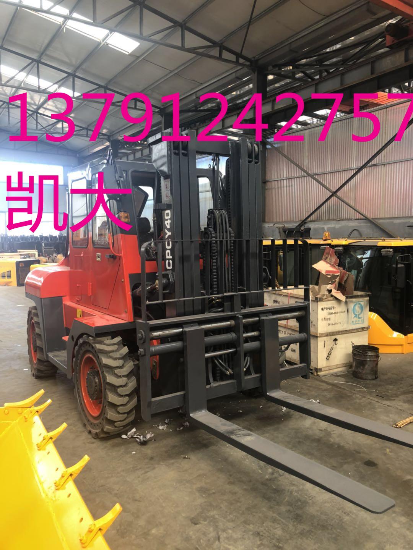 【山东越野叉车生产厂家大吨位性能好工地水路专用四... -搜了网