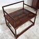 紫珍轩新中式赞比亚血檀禅椅实木简易烫蜡圈椅官帽椅打坐椅批发