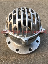 不锈钢法兰底阀H42W型井底阀吸水阀滤水阀图片