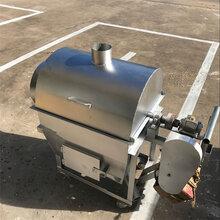 板栗滾桶炒鍋溫控炒貨機不銹鋼豪華炒貨機多少錢圖片