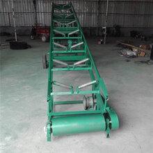 爬坡流水线输送机可定制输送机小型管式输送机给料机图片