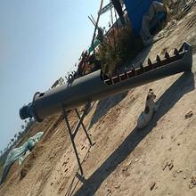 云南普洱抽沙机养殖场抽粪设备绞龙式抽粪机规格图片