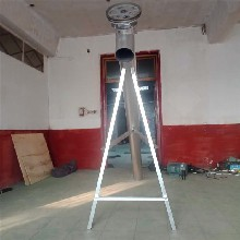 江西抚州抽沙机厂家定做7米绞龙鸡粪吸粪机规格图片
