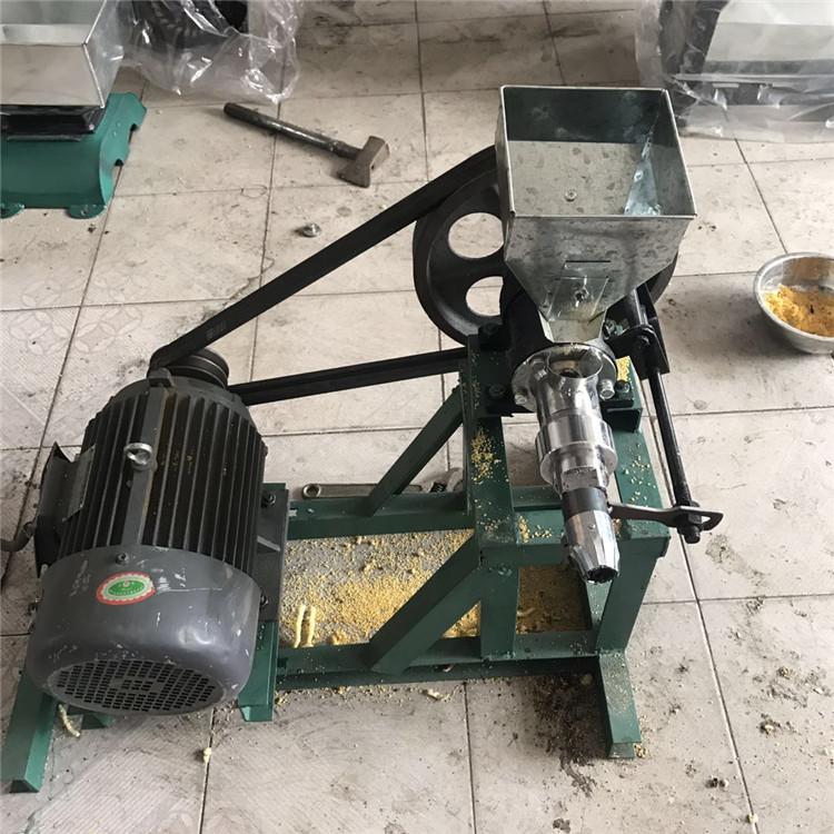 湖北黄石香酥果膨化机 玉米粒膨化机