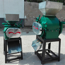 榆林打玉米粉机器视频制做花生碎的机器图片
