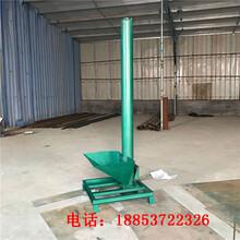 海南省倾斜式3米长螺旋上料机干粉倾斜管式输送机螺旋输送机生产厂家图片