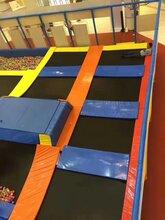 儿童主题蹦床乐园出租室内户外超级大蹦床游乐城堡租赁