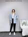 上海設計師羽絨服20冬90白鴨絨品牌折扣批發女式保暖外套