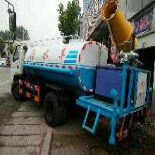 鄭州三輪霧炮灑水車廠家生產