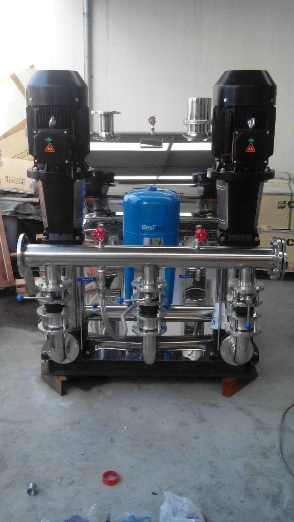 无负压变频供水设备叠压技术的新型二次给水成套设备