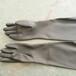 耐酸碱橡胶喷砂手套手动喷砂乳胶工业手套工矿农林渔业防护手套