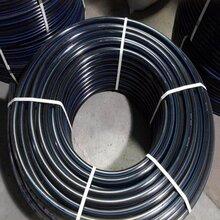 優質自來水PE給水管材DN225全新料PE給水管