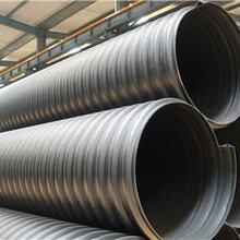 廠家批發鋼帶增強HDPE螺旋波紋管聚乙烯鋼帶管質優價廉