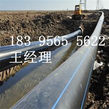 100级钢丝骨架pe管VS排水管开封图片