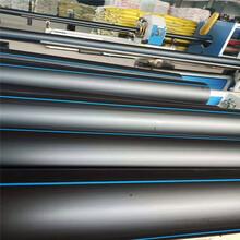 通辽HDPE钢带增强螺旋波纹管电力管等专心做好管图片