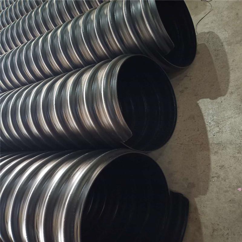 杭州HDPE钢带增强螺旋波纹管DN800认证 企业