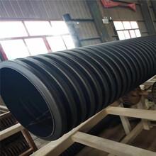 宁波聚乙烯钢带波纹管塑料井无渗水更环保图片
