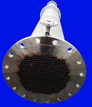 安达9.8平方不锈钢换热器不锈钢列管换热器不锈钢冷凝器图片