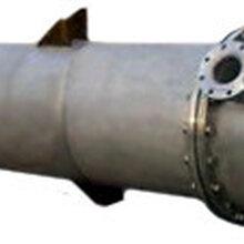 青岛126平方列管换热器管壳式换热器水水换热器高效波纹管换热器图片
