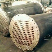 供应青岛11.6平方列管换热器管壳式换热器固定管板式换热器高效波纹管换热器图片
