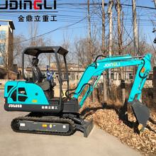 北京通州旧厂房拆除小型挖掘机价格表图片