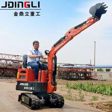 甘肅慶陽小型挖掘機廠家自產自銷圖片