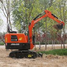 济南供应微型挖掘机旱厕改造小型挖掘机型号齐全小挖土机报价图片