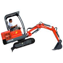 河北廊坊果园小型挖掘机价格图片