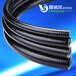 廠家直銷LNE-JSP-10B內徑10mm黑色阻燃PVC穿線管