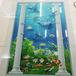 櫥柜家具板材uv光油淋涂機瓷磚背景墻光油機瓷磚玻璃上UV淋幕機直銷