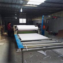 现货木塑地板三合板贴面机刨花板密度板贴纸机故障低不起泡移门家具平贴机
