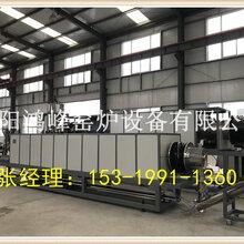一种连续式硅负极制备专用回转炉图片