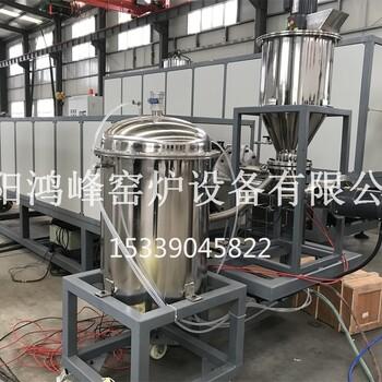 鸿峰窑炉硅炭负极材料高温焙烧炉