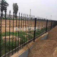 河源工礦企業安全網鍍鋅圍欄運動場館免維護鋅鋼圍欄規格圖片
