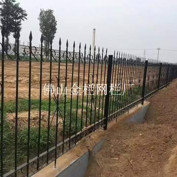 河源工矿企业安全网镀锌围栏运动场馆免维护锌钢围栏规格