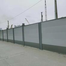广州钢结构围挡装配式钢结构围挡市政围挡铁皮围挡围挡加工图片