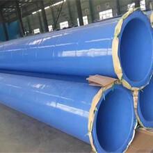 桩基工程用涂塑复合螺旋钢管报价图片