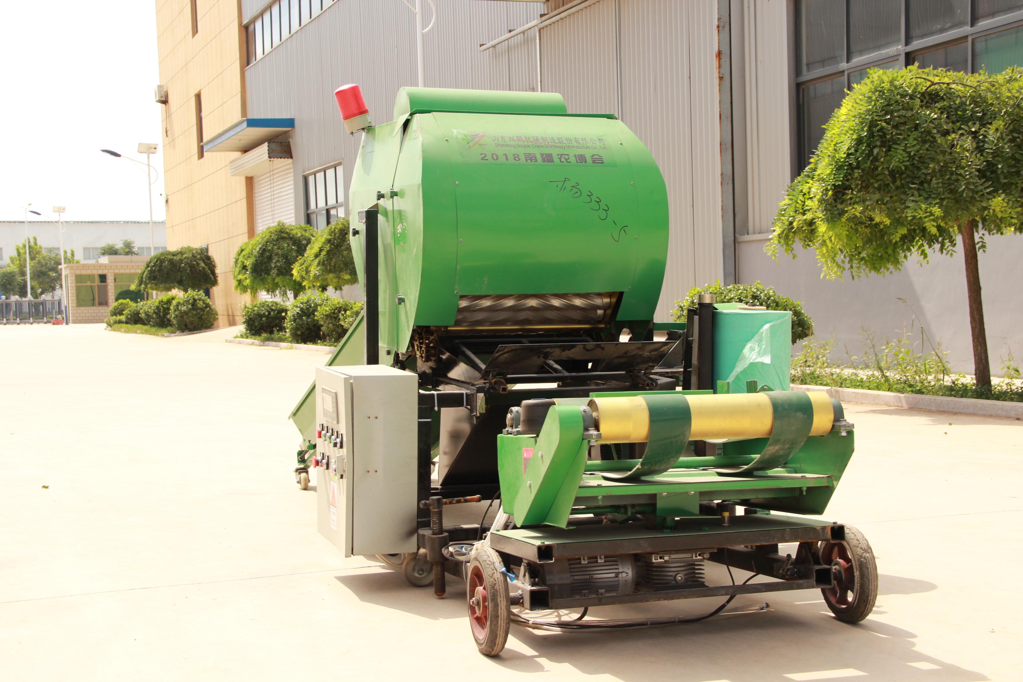 全自动打捆包膜一体机农场牧场专用牧草杂草打捆机9YQG-05型