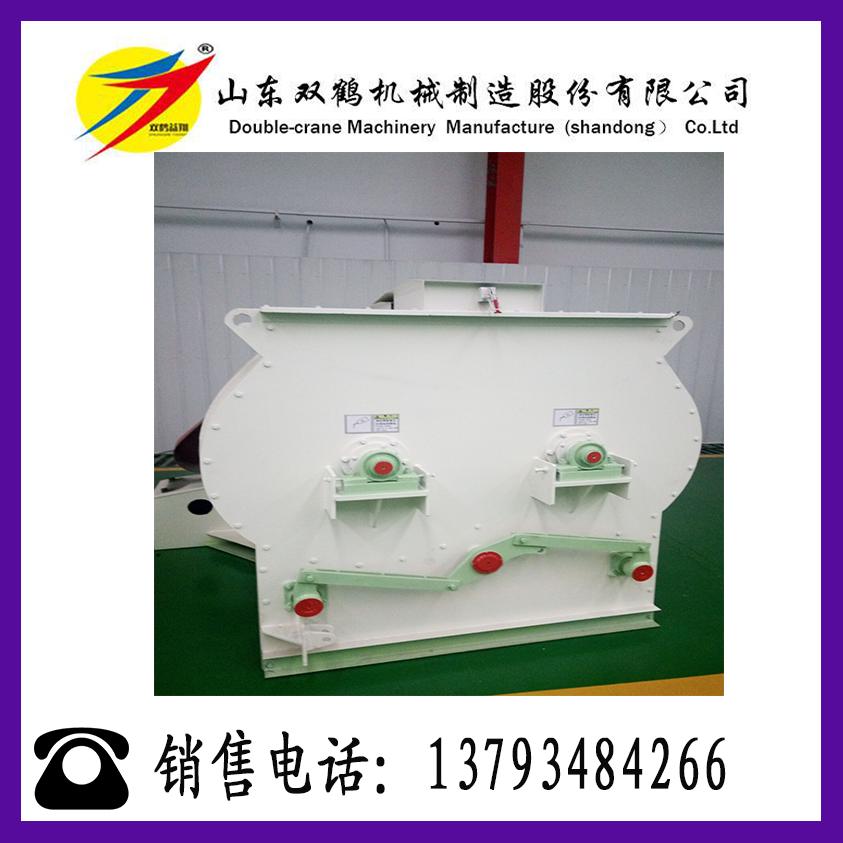 双轴高效碳钢材质搅拌机