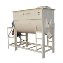山東直銷臥式飼料混合機牛羊飼料攪拌機大型碳鋼混合機圖片