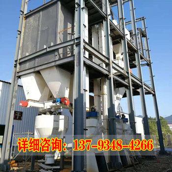 豆腐貓砂制粒設備成套貓砂加工機組大中貓砂顆粒生產線時產3噸