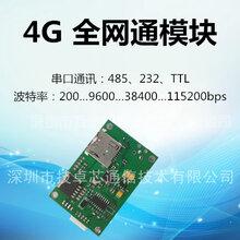 4GDTU全网通无线串口TTL/232/485通讯透传移远LED控制卡模块图片